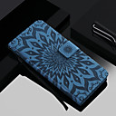 cheap Galaxy S Series Cases / Covers-Case For Samsung Galaxy Galaxy S10 / Galaxy S10 Plus Card Holder / with Stand / Flip Full Body Cases Flower Hard PU Leather for S9 / S9 Plus / S8 Plus