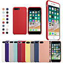 baratos Capinhas para iPhone-Capinha Para Apple iPhone X / iPhone 8 Antichoque Capa traseira Sólido Macia Silicone para iPhone XS / iPhone XR / iPhone XS Max