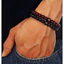 preiswerte Armband Herren-Herrn Retro Perlenarmband Hölzern Holz Kreativ Modisch Chinoiserie Armbänder Schmuck Schwarz / Braun Für Alltag Geburtstag