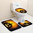 hesapli Paspaslar-3 Parça Geleneksel Banyo Paspasları 100g / m2 Polyester Sık Örgü Yaratıcı / Yenilik Düzensiz Havalı