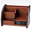 preiswerte Lupen-Holz Rechteck Neues Design Zuhause Organisation, 1pc Schreibtischzubehör