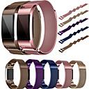 ieftine Camere IP-Uita-Band pentru Fitbit Charge 2 Fitbit Curea Milaneza Metal / Oțel inoxidabil Curea de Încheietură