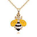 cheap Necklaces-Women's Stylish Long Charms - Wings, Bee Ladies, Dangling, Sweet Cool, Lovely Gold, White Necklace Jewelry 1pc / pack For Daily, Holiday