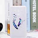 levne iPhone pouzdra-Carcasă Pro Huawei Mate 10 pro / Mate 10 lite Průhledné / Vzor Zadní kryt Peří Měkké TPU pro Mate 10 / Mate 10 pro / Mate 10 lite