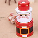 cheap Home Decoration-Gift Boxes Christmas Plastic & Metal Circular Novelty Christmas Decoration