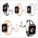 ieftine Felicitări-Uita-Band pentru Apple Watch Series 4/3/2/1 Apple Design Bijuterie Oțel inoxidabil Curea de Încheietură