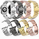 abordables Bracelets Apple Watch-Bracelet de Montre  pour Apple Watch Series 4/3/2/1 Apple Bracelet Sport / Boucle Classique Métallique / Acier Inoxydable Sangle de Poignet