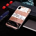 저렴한 아이폰 케이스-케이스 제품 Apple iPhone XR / iPhone XS Max IMD / 패턴 뒷면 커버 마블 소프트 TPU 용 iPhone XS / iPhone XR / iPhone XS Max