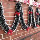 preiswerte Innendekoration-Urlaubsdekoration Weihnachtsdeko Weihnachtsschmuck Dekorativ Gold / Rassenschranke / Rot 1pc