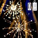 povoljno Prstenje-YWXLIGHT® 1pc LED noćno svjetlo Toplo bijelo / RGB + Topla AA baterije su pogonjene Vodootporno / Daljinski upravljano / Zatamnjen 5 V