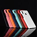 billige Halskjeder-Etui Til Huawei Honor 10 / Honor V9 Matt Bakdeksel Ensfarget Hard PU Leather til Huawei Honor 10 / Honor 9 / Huawei Honor 9 Lite