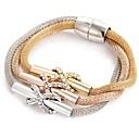 cheap Necklaces-Women's Retro Wrap Bracelet Rhinestone Ladies Elegant Bracelet Jewelry Rose Gold For Ceremony Evening Party