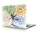 """رخيصةأون أطقم المجوهرات-MacBook صندوق زهور PVC إلى MacBook Pro 13-inch / MacBook Pro 15-inchمع شاشة ريتينا / New MacBook Air 13"""" 2018"""