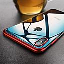 levne iPhone pouzdra-Carcasă Pro Apple iPhone X / iPhone XS Max Ultra tenké / Průhledné Zadní kryt Jednobarevné Měkké TPU pro iPhone XS / iPhone XR / iPhone XS Max