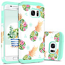 cheap Galaxy S Series Cases / Covers-BENTOBEN Case For Samsung Galaxy S7 Shockproof / Pattern Back Cover Fruit Hard PC / Silica Gel for S7