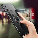 رخيصةأون ملصقات ديكور-غطاء من أجل Xiaomi Xiaomi Mi Max 3 / Xiaomi Mi 8 / Xiaomi Mi 8 SE ضد الصدمات / حامل الخاتم غطاء خلفي لون سادة قاسي الكمبيوتر الشخصي