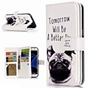 cheap Galaxy S Series Cases / Covers-Case For Samsung Galaxy S9 Plus / S8 Wallet / Card Holder / with Stand Full Body Cases Dog Hard PU Leather for S9 / S9 Plus / S8 Plus