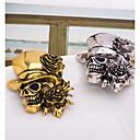 ieftine Bijuterii de Păr-Bărbați Broșe #D Craniu femei Punk Broșă Bijuterii Auriu Argintiu Pentru Halloween