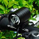 hesapli Bisiklet Işıkları-Bisiklet Ön Işığı LED Bisiklet Işıkları Bisiklet Su Geçirmez, Portatif, Seyahat Boyutu Şarj Edilebilir Pil 400 lm Şarj Edilebilir Piller Beyaz Bisiklete biniciliği