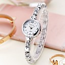 cheap Women's Watches-Women's Bracelet Watch Quartz Stainless Steel Silver / Gold Casual Watch Analog Ladies Fashion - Silver Golden