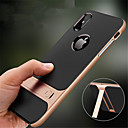 cheap iPhone Cases-Case For Apple iPhone XR XS XS Max with Stand Back Cover Solid Colored Hard PC for iPhone X 8 8 Plus 7 7plus 6s 6s Plus SE 5 5S