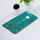 رخيصةأون أساور-غطاء من أجل Huawei P10 Lite ضد الغبار / نحيف جداً / نموذج غطاء خلفي خطوط / أمواج ناعم TPU