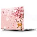 """ieftine Bijuterii de Păr-MacBook Carcase Floare PVC pentru Noul  MacBook Pro 15"""" / Noul  MacBook Pro 13"""" / MacBook Pro 15-inch"""