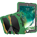 رخيصةأون ساعات النساء-غطاء من أجل Apple ايباد ميني 5 / iPad New Air (2019) / iPad Pro 10.5 ضد الصدمات / ضد الغبار / مقاوم للماء غطاء كامل للجسم لون سادة / تمويه / درع قاسي سيليكون / جل السيليكا