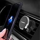 tanie Etui do iPhone-Cooho Samochód Zamontuj uchwyt stojaka Kratka wylotowa powietrza Typ klamry / Typ magnetyczny / Obrót 360 ° Poliwęglan / Aluminium Posiadacz