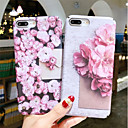 abordables Coques d'iPhone-Coque Pour Apple iPhone XR / iPhone XS Max Phosphorescent / Motif Coque Fleur Dur PC pour iPhone XS / iPhone XR / iPhone XS Max