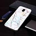 رخيصةأون حافظات / جرابات هواتف جالكسي J-غطاء من أجل Samsung Galaxy J8 (2018) / J7 (2017) / J7 (2018) IMD / نموذج غطاء خلفي حجر كريم ناعم TPU