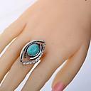 olcso Gyűrűk-Női Türkizkék Nyissa meg a gyűrűt Réz Ötvözet hölgyek Vintage Western stílus Divatos gyűrű Ékszerek Ezüst Kompatibilitás Napi
