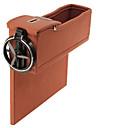 זול Cellphone & Device Holders-אירגוניות לרכב קופסאות אחסון עור עבור אוניברסלי כל השנים כל הדגמים