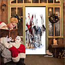cheap Decoration Stickers-Door Stickers - 3D Wall Stickers Christmas Decorations / Holiday Indoor / Outdoor