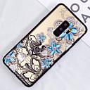 رخيصةأون حافظات / جرابات هواتف جالكسي S-غطاء من أجل Samsung Galaxy S9 / S9 Plus / S8 Plus شبه شفّاف / نموذج غطاء خلفي زهور قاسي الكمبيوتر الشخصي