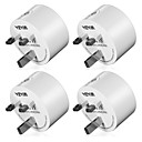 cheap Smart Plug-WAZA Smart Plug(UK) Mini Outlet Compatible with Amazon Alexa and Google Assistant, Wifi Enabled Remote Control Smart Socket with Timer Function, No Hub Required(4-Pack)