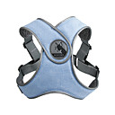저렴한 강아지 목줄, 하네스 & 리드줄-애완견 용품 하니스 조끼 솔리드 기타 자료 그레이 / 핑크 / 밝은 블루