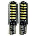 billiga Bakljus-SENCART 2pcs T10 Bilar Glödlampor 6 W SMD 3014 360 lm 48 LED innerbelysningen Till General Motors Alla år