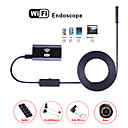 tanie Systemy CCTV-wifi endoscope aparat 8mm soczewka 5m wodoodporna inspekcja borescope hd android usb endoskop dla ios windows pc snake tube