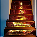 お買い得  LED アイデアライト-飾りウォールステッカー - ホリデーウォールステッカー クリスマス 屋外 / オフィス
