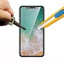 abordables Coques d'iPhone-Protecteur d'écran pour Apple iPhone XS / iPhone X Verre Trempé 1 pièce Ecran de Protection Avant Haute Définition (HD) / Dureté 9H / Coin Arrondi 2.5D
