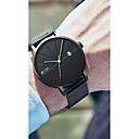 hesapli Erkek Saatleri-Erkek Dijital saat Quartz Siyah / Gümüş / Altın Rengi 30 m Su Resisdansı Takvim Gündelik Saatler Analog Günlük Moda - Siyah Gümüş Gül Altın