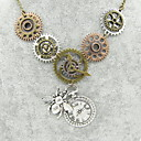 hesapli Kolyeler-Kadın's Heykel Açıklama Kolye - Bal Arısı, Dişli İfade, Vintage, Steampunk Havalı Bronz 56+5 cm Kolyeler Mücevher 1pc Uyumluluk Gece dışarı & Özel vesilesiyle, Maskeli Balo