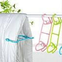 preiswerte Arbeitsplatten & Wandorganisation-2 stücke decke quilt multifunktionale wäscheständer kunststoff kleiderbügel neue mode hause waschen kleidung trockengestelle
