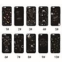 olcso iPhone tokok-Case Kompatibilitás Apple iPhone XR / iPhone XS Max Ultra-vékeny / Minta Fekete tok Látvány Puha TPU mert iPhone XS / iPhone XR / iPhone XS Max