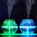 cheap Smart Lights-BRELONG RGB Crystal Projection Humidifier Night Light