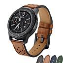 Недорогие Женские часы-Ремешок для часов для Gear S3 Frontier / Gear S3 Classic Samsung Galaxy Спортивный ремешок / Классическая застежка Натуральная кожа Повязка на запястье