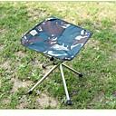 billige Headset og hovedtelefoner-Jungle King Campingskammel Bærbar Foldbar Oxfordtøj for 1 Person Fiskeri Camping Sort Kamuflage