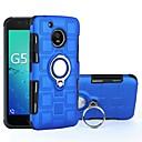 Недорогие Чехлы и кейсы для Motorola-Кейс для Назначение Motorola G5 Plus / G5 Защита от удара / Кольца-держатели Кейс на заднюю панель броня Твердый ПК для Мото G5 Plus / Moto G5