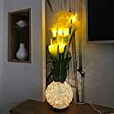 hesapli Sarkıt Işıklar-1pc Gece aydınlatması LED Sıcak Beyaz DC Powered Çok güzel 5 V